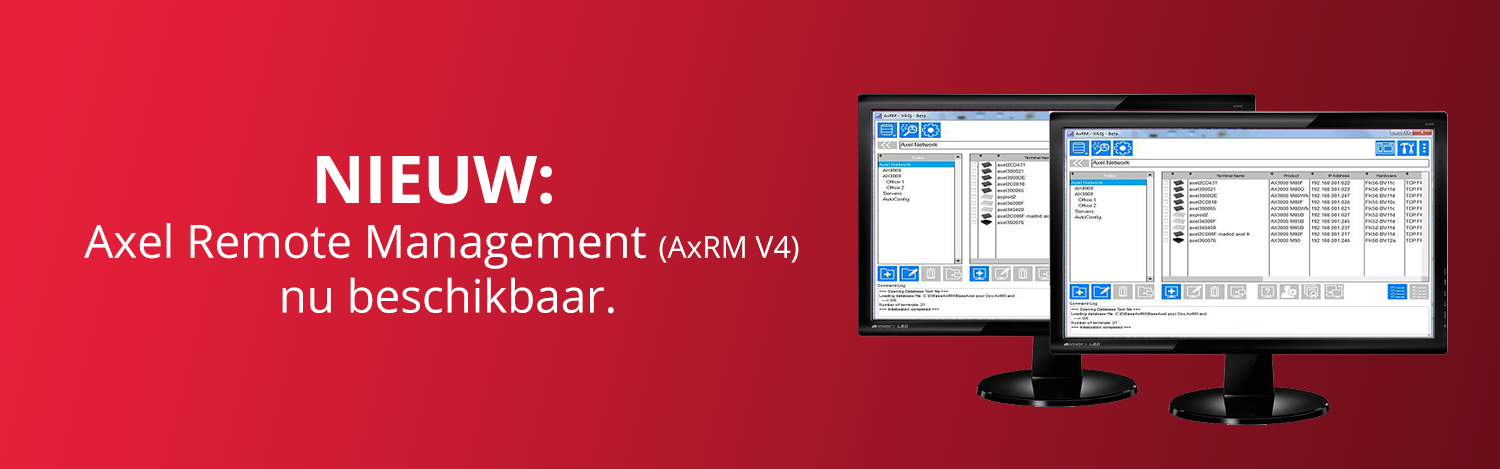 Axel Remote Management versie 4