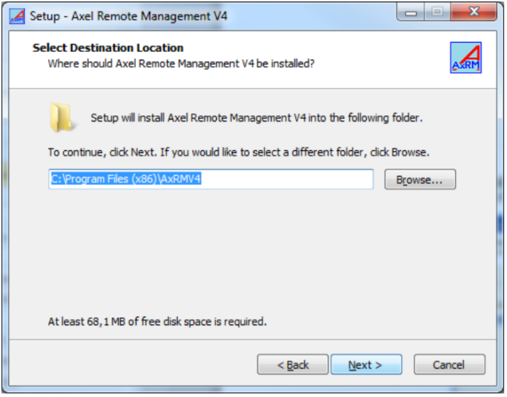 Axels remote management tool axrm